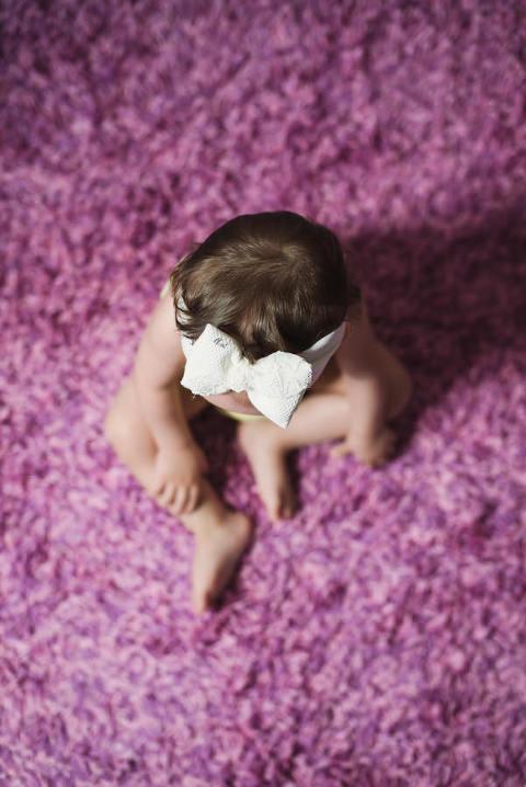 φωτογράφιση μωρού στο σπίτι